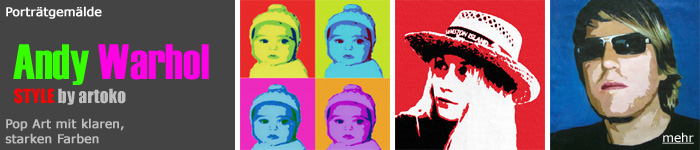 Pop Art Portraits Warhol